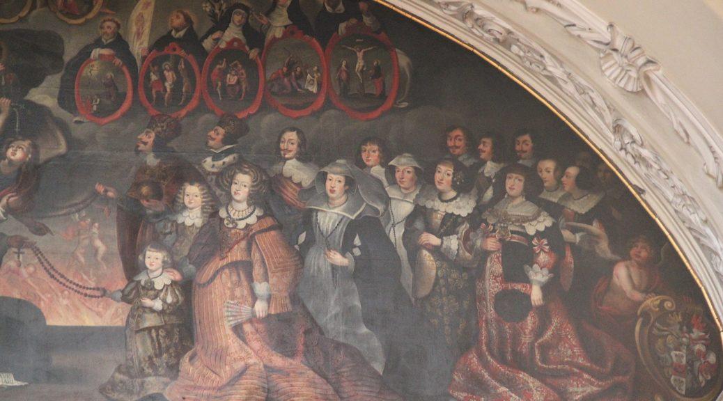 Stifterfresko; Wien, Dominikanerkirche, Foto: Marion Romberg