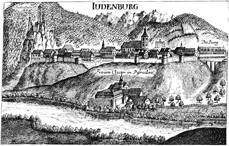 Stadtansich Judenburg (Ausschnitt)